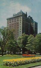 Ritz Carlton Overlooking Boston Garden Vintage Postcard