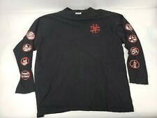 Vintage Size XL Nail Bomb 100 Reasons To Hate Long Sleeve Shirt Free Shipping
