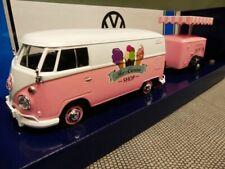 1/24 Motor Max VW T1 mit Anhänger Ice Cream Shop 79672
