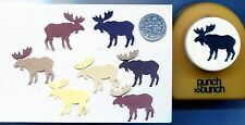 Large Punch Bunch Moose Shape Paper Punch Scrapbooking-Quilling-Cardmaking