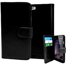 Leather Wallet Book Cover Pouch Case For Motorola Nexus 6 Moto G X XT1032 XT1052