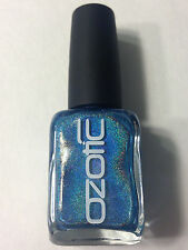NW OZOTIC HOLO MULTICHROME 515 SKY BLUE HOLOGRAPHIC NAIL POLISH LACQUER ENAMEL