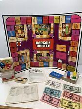 Bargain Hunter Board Game Smart Shopping Credit Card Milton Bradley 4109 Vintage
