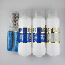 """5er 8"""" Ersatz Wasserfilterset Keramik für Coway CHP-06DL, P-07CL, P-220"""