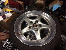 "One set of 18"" Porsche Turbo 3 piece Italian Speedline Wheels 18x10/8 SL 978"