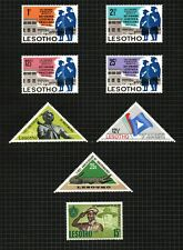Lesotho 1967, 3 commemorative sets sg137/144.