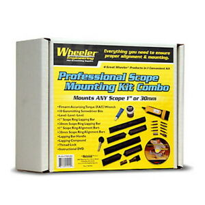 """Wheeler 545454 Mounting Kit Combo, 1"""" & 30mm"""