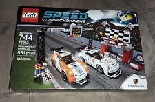 Lego Speed Champions Porsche 911 Gt Finish Line (75912) Brand New
