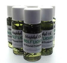 Lobo Liquen Herbal Magia Unción 10ml Aceite protección total