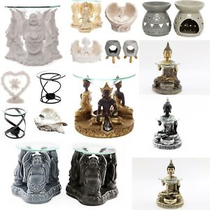 OIL BURNER BUDDAH FIGURINE WAX MELT AROMATHERAPY CANDLE ORNAMENT TEALIGHT GIFT