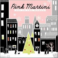 PINK MARTINI ~ JOY TO THE WORLD ~ LIMITED ED CLEAR VINYL ~ 13 HOLIDAY SONGS ~ LP