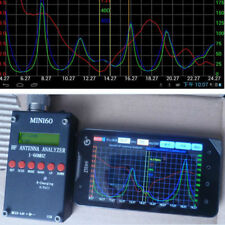 2019 Mini60 Sark100 HF ANT SWR Antenna Analyzer Meter Bluetooth Android APP PC S