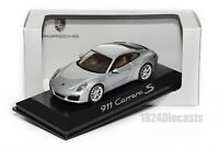 Porsche 911 (991 II) Carrera S, dealership model in 1:43 scale, car gift present