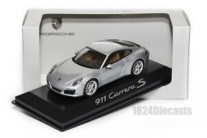 Porsche 911 (991 II) Carrera S, dealership model in 1:43 scale,car gift present