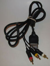Original Official Microsoft Xbox AV Wire Cord Cable OEM genuine Tested/Working