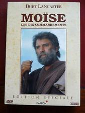 DVD - MOÏSE avec Burt Lancaster Edition intégrale 2 DVD Durée 5H00