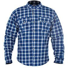Oxford Kickback Motorbike Motorcycle Shirt Checker Water Resistant With Kevlar