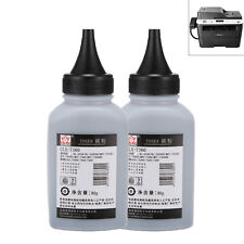 2pcs 80g Unsiversal Black Printer Toner Refill For Brother HL ,lenovo LJ Series