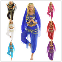 Women Adult Belly Indian Dance Suit Halloween Festival Carnival Cosplay Costume