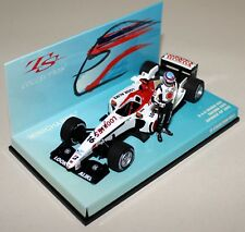 Minichamps 1/43 Scale 518 034316 B.A.R Honda 005 T Sato + Figure Diecast F1 Car