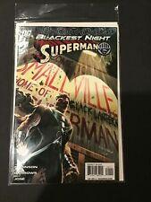 BLACKEST NIGHT SUPERMAN #1 2009 DC Comics