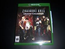 Replacement Case (NO  GAME) RESIDENT EVIL ORIGINS COLLECTION XBOX ONE 1 XB1