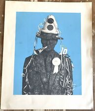 ANDY WARHOL silk-screen Print. International Record Syndicate 10th Anniversary.