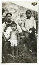 photo vintage China femme chinoise et enfant photography woman Chine 1930