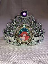 Disney Princess Little Mermaid Ariel Deluxe Child Tiara Plastic Crown Jeweled