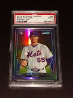 2013 Bowman Chrome #49- Zack Wheeler Rookie Card Refractor! PSA MINT 9!