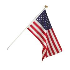 NEW Liberty Flags US FLAG 3' X 5' American USA Flag Set Kit w Pole Mount & Eagle