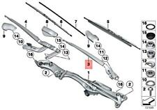 Genuine BMW ROLLS-ROYCE Alpina Drophead Phantom B7 Wiper Arm Left 61617208691