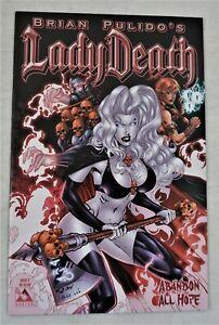 Lady Death Abandon All Hope #2 SEP 2005 Ron Adrian Cover Avatar NM