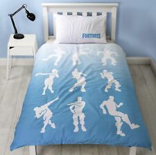 PREORDER FORTNITE VICTORY ROYALE 'SHUFFLE' SINGLE DUVET BEDDING OFFICIAL