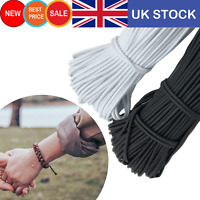 3mm Rond Elastic Cord Stretch Band Strap String for DIY Face Mask Sewing UK