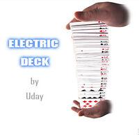 Electric Deck (50, Poker),magic Props Card Magic Trick Stage Magic Fun Magic Toy