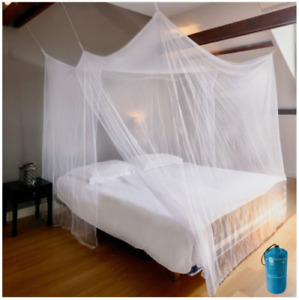 EVEN NATURALS Luxury Net for Bed Canopy, Large Tent, Double, Camping Screen
