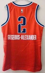 Shai Gilgeous-Alexander Signed Jordan Brand NBA Statement Jersey Auto FANATICS