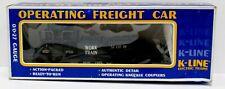 K-Line K-7201 MOW Work Train Operating Searchlight Car NIB 1989 Gray