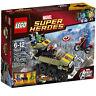 Lego Marvel Super Heroes 76017 CAPTAIN AMERICA VS HYDRA Red Skull Minifig NISB
