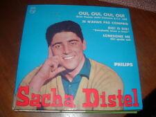 """SACHA DISTEL """" OUI,OUI,OUI,OUI + 3 """"E.P. ITALY'59  GRAN PREMIO CANZONE R.T.F.'59"""