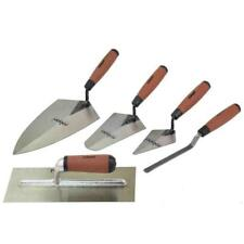 Trowel Set 5 Pcs Tradesman Brick Plastering Builder Pointing Laying Rolson 52489