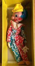 Vintage Boxed Deluxe Pelham Puppet Clown SM1 DL