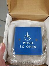 """Norton 502 Handicap Door Switch 4-1/2"""" Square Door Switch Package."""