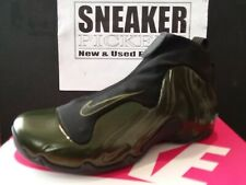 Nike Air Flightposite - Legion Green / Black - AO9378 300 - Mens 10.5 / Wmns 12