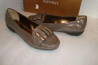 Ellen Tracy Womens NWB Baldwin Antique Bronze Patent Shoes 6.5 MED NEW