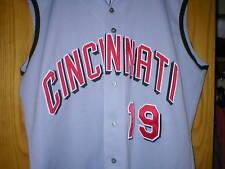 2000 DENIS MENKE Cincinnati Reds Game Used Worn Jersey