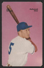 1952 Mother's Cookies PCL BB Card #38 - Lou Stringer