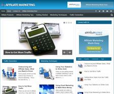 Affiliate Marketing Tips PLR Niche Blog Wordpress Ready Made Website