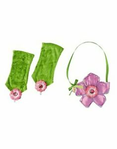 Youth Girls Peter Pan Fantasy Adventure Film Tinker Bell Purse and Gloves